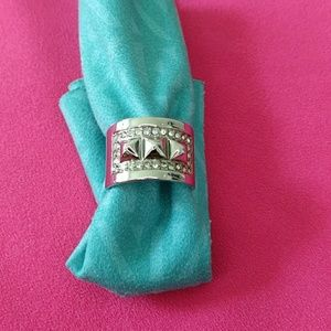 Rebecca Minkoff Polished Silver Ring